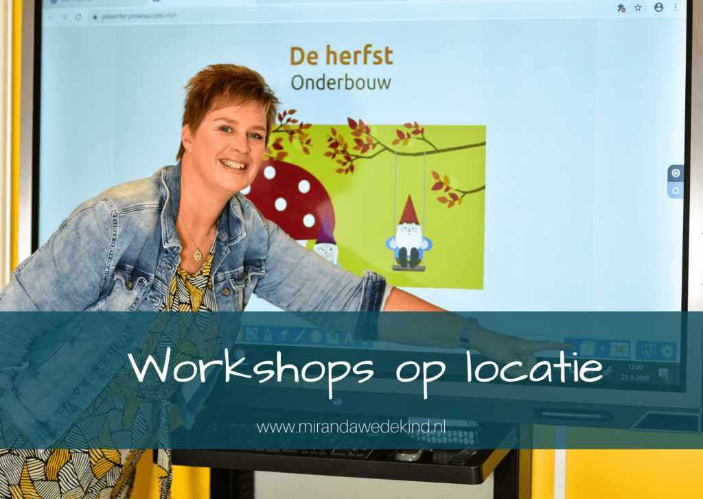 Workshops en begeleiding