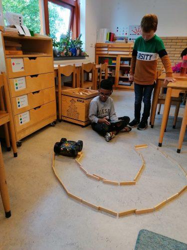Rugged Robot in de klas