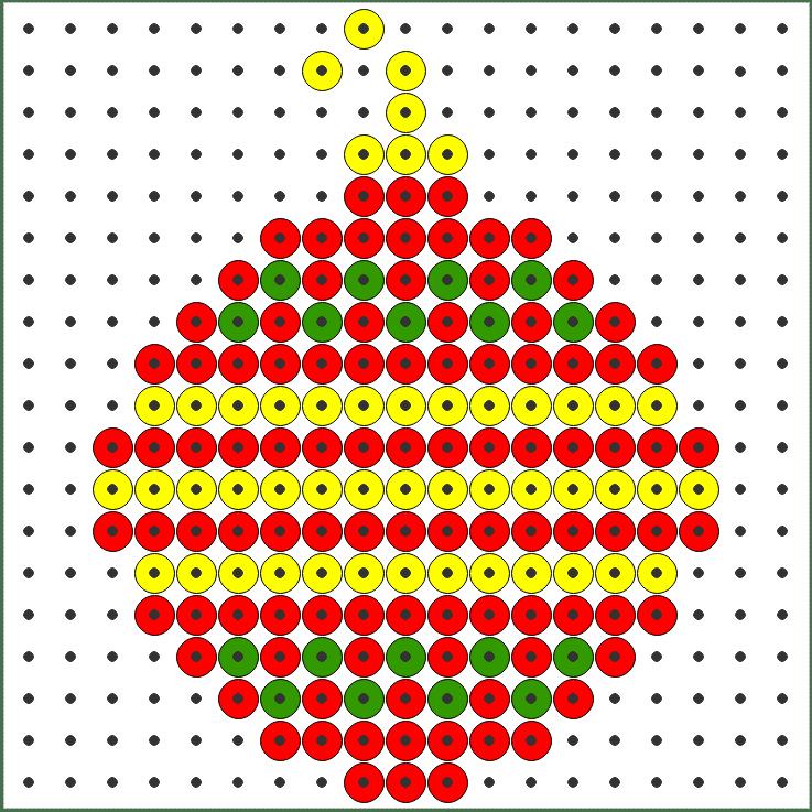 Coderen met de kralenplank | Kerst