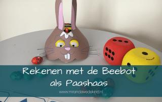 Rekenen met de Beebot als Paashaas