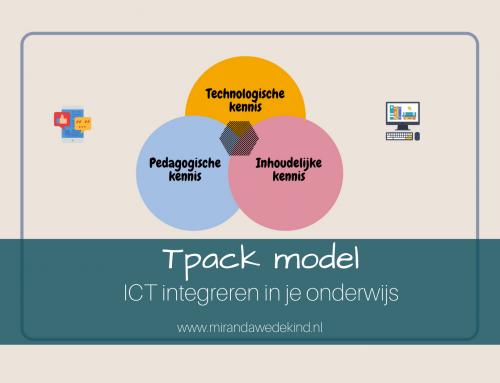 TPACK model – ICT integreren in je onderwijs