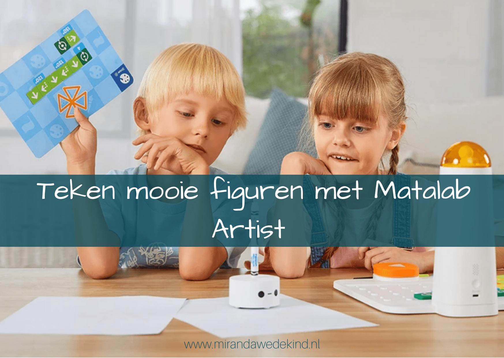 Teken mooie figuren met Matalab Artist