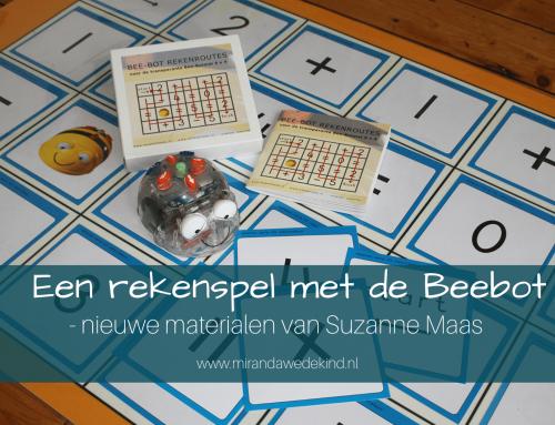 Een rekenspel met de beebot- nieuwe materialen van Suzanne Maas