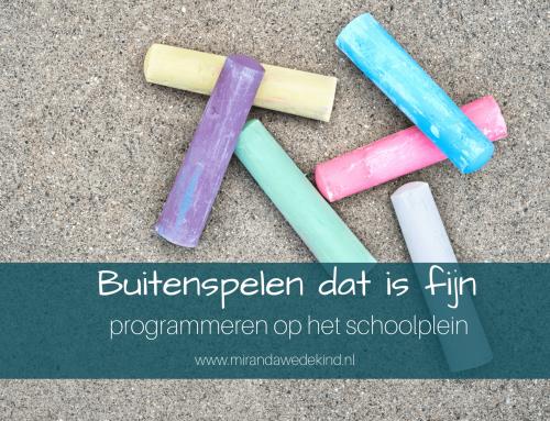 Programmeren op het schoolplein