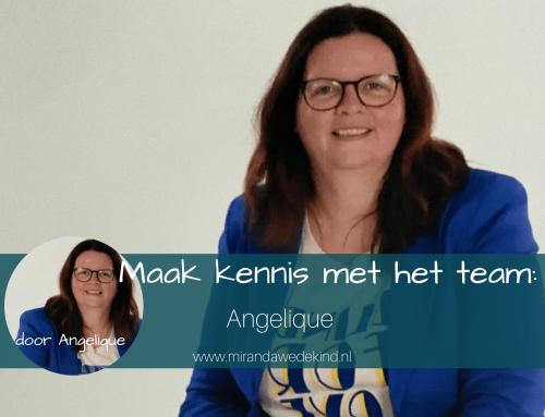 Maak kennis met het team: Angelique
