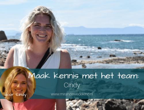 Maak kennis met het team: Cindy