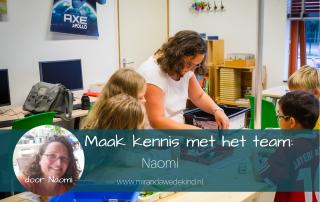 Maak kennis met het team: Naomi