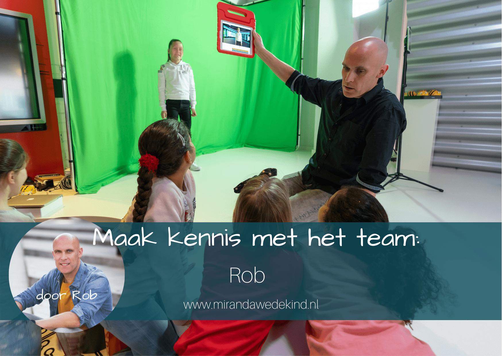Maak kennis met het team: Rob