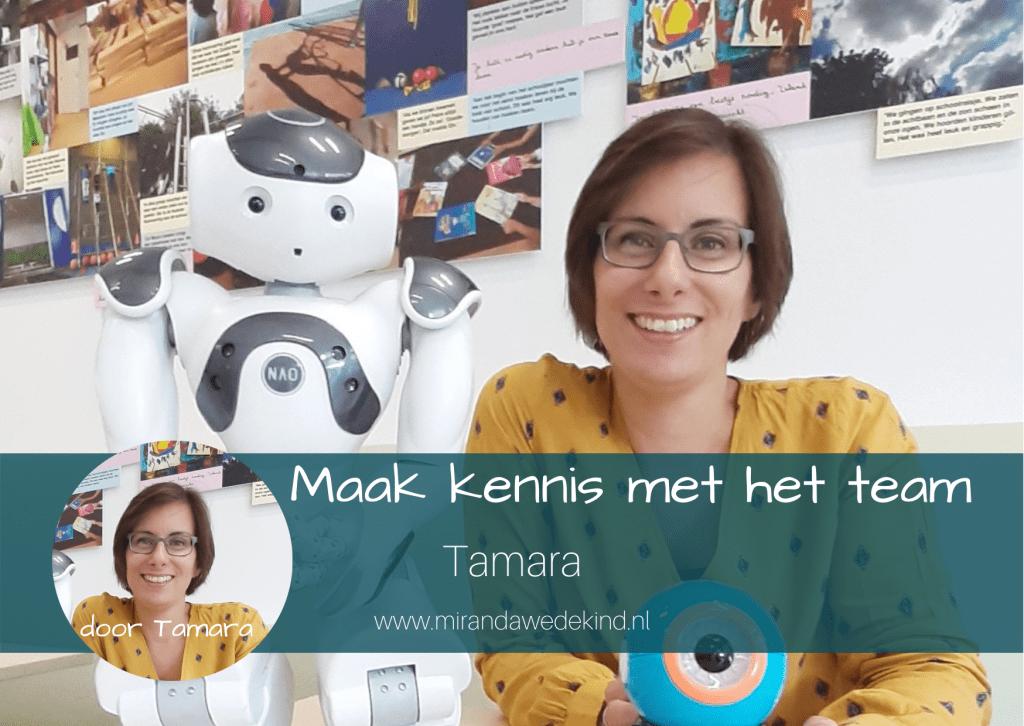 Maak kennis met het team: Tamara