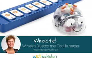 Winactie - Win een Blue-Bot met TacTile reader